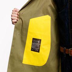 J.crew Mackintosh Dunkeld Coat in Black for Men (khaki lemon) | Lyst