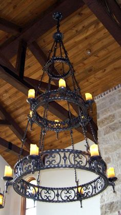 Potter Iron Art Metals Iron Wall Art, Iron Art, Candle Stand, Candle Holders, Backyard Creations, Iron Chandeliers, Iron Steel, Architectural Elements, Wire Work
