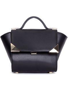 Shop Black Metal Embellished PU Bag online. SheIn offers Black Metal Embellished PU Bag & more to fit your fashionable needs.