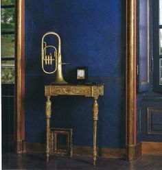 La Maison Boheme: Blue Hues with a Dash of Brass