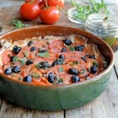 My Big Fat Greek Tomato Tart recipe