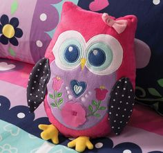 The Pretty Owl cushion is a beautiful decorative bedroom accessory for the Pretty Owl bedding set from the Cubby House Kids children's bed linen collection and is perfect for children that love owls. The Pretty Owl cushion is made from polyeste Owl About Me, Owl Bedding, Children Swimming Pool, Owl Cushion, Cubby Houses, Bed Linen Design, Bedroom Accessories, Quilt Cover Sets, Kid Beds