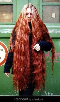 long hair red hair - oh my... this is amazing!