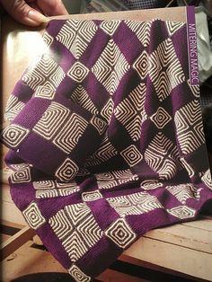 Ravelry: Elemental Miters: Afghan pattern by Edie Eckman