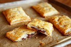Homemade Toaster Pastries.  She uses Nutella, but I could use any jam or filling.  (Or homemade Nutella to avoid the nasty ingred's...)