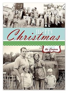 Create Your Own Christmas Photo Card With These Free Templates: Three Free Christmas Card Templates from Simple As That