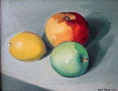 appels stilleven - Google Search Quilling, Easter Eggs, Google, Food, Bedspreads, Essen, Meals, Quilting, Yemek