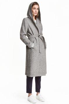Płaszcz z kapturem | H&M