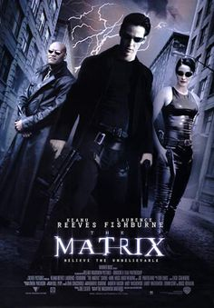 Official theatrical movie poster ( of for The Matrix Starring Keanu Reeves, Laurence Fishburne, Carrie-Anne Moss, Hugo Weaving Film Science Fiction, Fiction Movies, Keanu Reeves, Love Movie, Movie Tv, Action Movies To Watch, Watch Movies, The Matrix Movie, Hugo Weaving