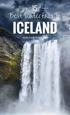 You+do+not+have+to+look+very+hard+to+find+waterfalls+in+Iceland.+They+are+literally+everywhere;+while+driving+around+the+island+we+unexpectedly+ran+into+amazing+waterfalls+we+didn't+even+know+were+going+to+be+there.+Check+out+15+of+the+BEST+waterfalls+in+Iceland!