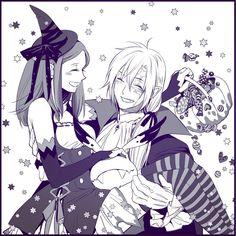Allen Walker x Lenalee + Timcanpy Halloween D Gray Man, Grey, Manga Anime, Anime Art, Lenalee Lee, Allen Walker, Manga Games, Anime Couples, Webtoon