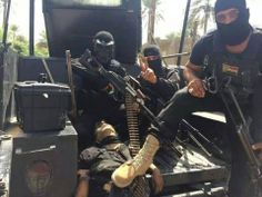 Terrorists hunters from Iraqi special forces..bad day for terrorists