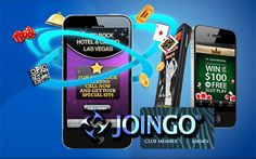 Joingo App to Offer Personalised Casino Advertising: The new mobile application will allow casinos of all sizes to offer customers personalised adverts and promotions.  Source: http://www.onlinecasinoarchives.com/technology/  #Mobile #Joingo #Casino #MobileCasino #MobileGaming #Marketing