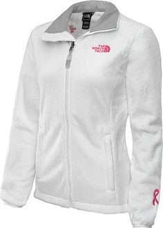 THE NORTH FACE Women's Pink Ribbon Osito 2 Jacket - SportsAuthority.com