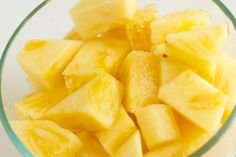 DIY Homemade Pineapple Facial- Yes this may work, but it makes me hungry. I wonder, can I eat the piece of pineapple after rubbing it on my face?