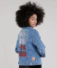 0a8407330 Jaqueta-Jeans-com-Estampa-Azul-Medio-8743131-Azul Medio 2