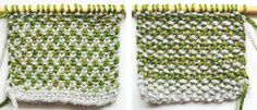 Two-color Linen stitch