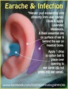 How to treat an ear infection with essential oils. For more info or to order www.EssentialOilsEnhanceHealth.com by annabelle