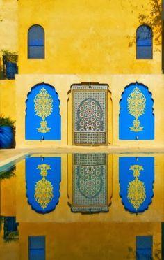Yves Saint Laurent's Morocco
