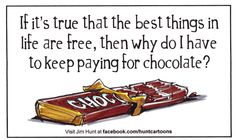 For all you chocolate lovers. Chocolate Humor, Chocolate Quotes, Death By Chocolate, I Love Chocolate, Chocolate Coffee, How To Make Chocolate, Chocolate Lovers, Craving Chocolate, Candy Quotes
