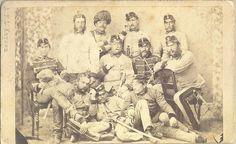 https://flic.kr/p/i3SP1w | 11 østrigske Officerer | Krigen 1864. 11 østrigske Officerer. 5950 – 26D