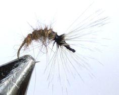 Fly FIshing Flies Hare's Ear Silk eye Tenkara от MJLawlesscrafts