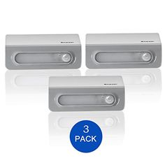 Motion Sensor Energy Saving Wireless 5-LED Night Light With Soft White Light, 3-Pack, Battery-Powered, Automatic On/Off, Safe For Kids, Stick Anywhere In Bedside, Hallway, Bathroom, Closet, Stairway - http://bestmetaldetector.co/motion-sensor-energy-saving-wireless-5-led-night-light-with-soft-white-light-3-pack-battery-powered-automatic-onoff-safe-for-kids-stick-anywhere-in-bedside-hallway-bathroom-closet-stairway/