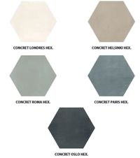 carrelage hexagonal gris et blanc sol et mur 15x15 s rie cement durstone water pinterest. Black Bedroom Furniture Sets. Home Design Ideas