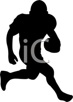 football player silhouette - Google Search | Cut Files | Pinterest ...