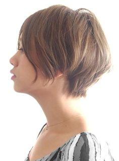 【ショートヘア】☆大人の美シルエット ショートボブ☆ /BEAUTRIUM 表参道の髪型・ヘアスタイル・ヘアカタログ|2016春夏 Cute Hairstyles For Short Hair, Girl Short Hair, Short Hair Cuts, Short Hair Styles, Shoulder Hair, Hair Today, Hair Trends, Hair Inspiration, Hair Makeup
