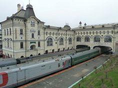 Trans-Siberian Railway terminal in Vladivostok