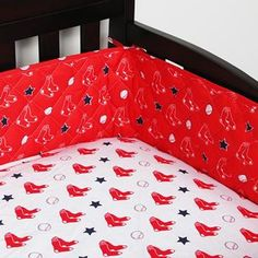 Use this Exclusive coupon code: PINFIVE to receive an additional 5% off the Boston Red Sox Baby Crib Bumper at SportsFansPlus.com