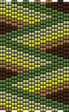 ESQUEMA MANCHETE de  MANUCREA -- beautiful bead design would make an amazing quilt