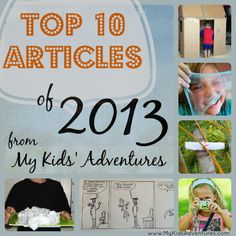 We are honored to be a contributor with My Kids Adventures. Our Slime recipes made #2 on their top 10 list for 2013