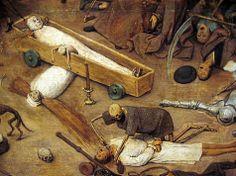 El triunfo de la muerte. Pieter Bruegel. 1562. Inspirado en la Danza de la muerte