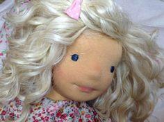 """LAURA 20 """" (50 cms) poupée waldorff, poupée d'art OOAK de la boutique LilyRosepoupees sur Etsy"""