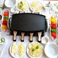 Nowadays, more and more people started to use raclette grills for family events and get together parties. There are a lot of advantages hosting a raclette party. Besides the great food that comes o...