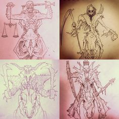 Four Horsemen of the Apocalypse by BoKaier