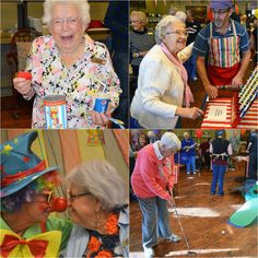 Residents enjoy carnival games and food at Water Valley Senior Living Resort in Windsor, Colorado. Learn more about this location here: http://www.good-sam.com/index.php/locations/watervalleyseniorlivingresort #GoodSamaritanSociety