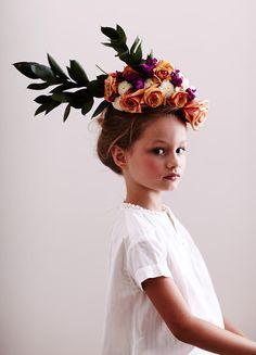 Trend Alert: floral headpiece