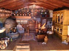Great wizard Jenkins Magic shop 001 by on DeviantArt Best Interior, Interior And Exterior, Harry Potter Miniatures, Haunted Dollhouse, Dollhouse Ideas, My Doll House, Howls Moving Castle, Magic Shop, Antique Stores