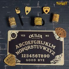 Your cooking will be otherwordly with this Ouija decor all over your kitchen!