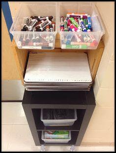 Make Music Rock!: Mobile whiteboard supply station Make Music Rock! Classroom Supplies, Classroom Setup, Classroom Design, Music Classroom, Future Classroom, Music Room Organization, Classroom Organization, Classroom Management, Music Rock