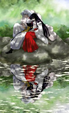 Ah Sesshomaru quedó hermoso¡¡¡ jajajajaj. Quería hacer un fanart donde se le…