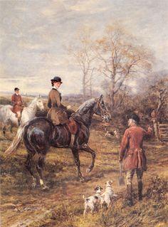 PARSON JACK RUSSELL FOX TERRIER HUNTING HORSE DOG FINE ART PRINT - Side Saddle   eBay