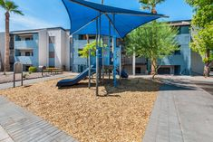 If your kids don't get enough playtime at school, we have a community playground for them to have fun on. Second Floor, Playground, Apartments, Have Fun, Floor Plans, Community, Tours, Patio, School