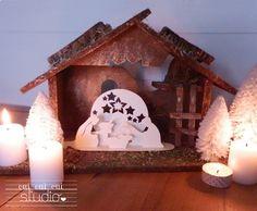 YES YES YES Studio: X-MAS ♥ ♥ DIY CHRISTMAS CRIB http://ouiouiouistudio.blogspot.com/2012/12/x-mas-creche-de-noel-diy.html