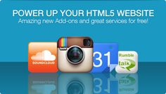 New! Power Up Your HTML5 Website with These Cool Add-ons