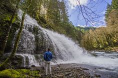 The Columbia River Gorge is home to hundreds, if not thousands, of waterfalls and is often the destination of choice for adventurers in the Portland, Oregon area.