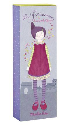les parisiennes, moulin roty, poupées, rétro, madame églantine